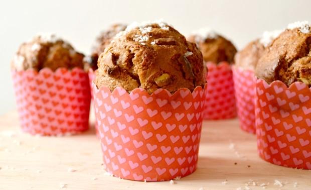 muffins chocolat au lait noix de coco les cookines. Black Bedroom Furniture Sets. Home Design Ideas