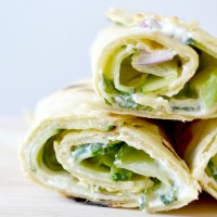Home Made Veggie Wraps - Avocat, Concombre & Menthe