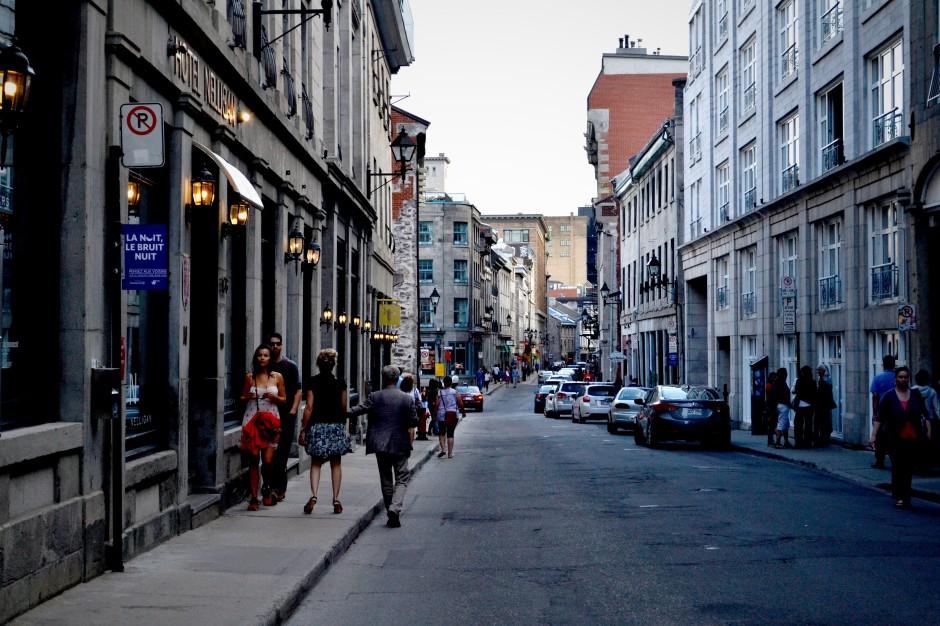 Le vieux Montreal