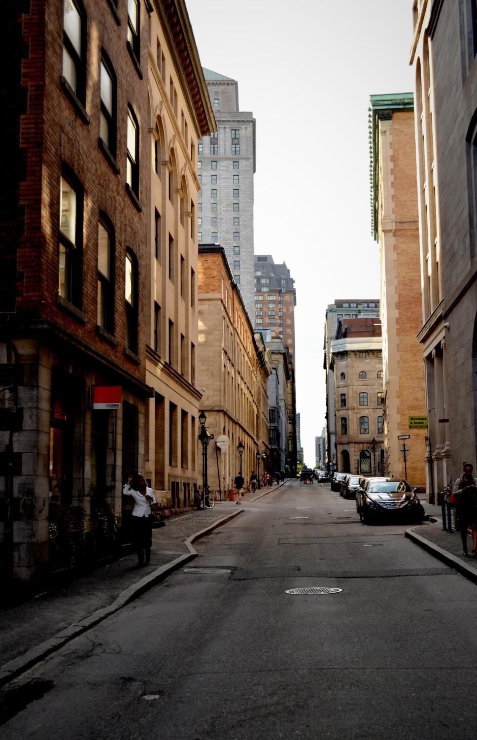 Les vieux Montréal