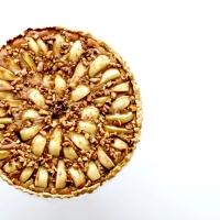 Tarte d'automne - Poires, Crème de Marrons & Noix