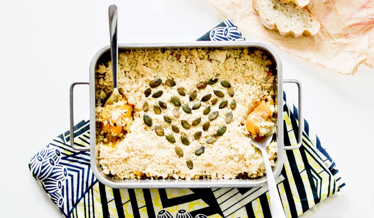 Crumble de butternut à partager ♥