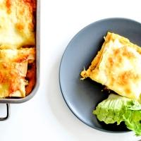 Lasagnes - Butternut, Boeuf,Champignons & Ricotta