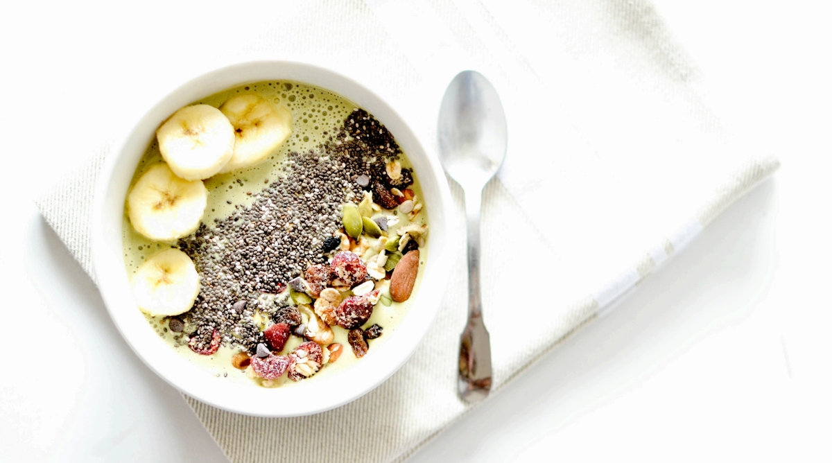 Smoothie Bowl - Matcha & Banane