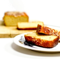Cake moelleux - Ricotta & Amandes