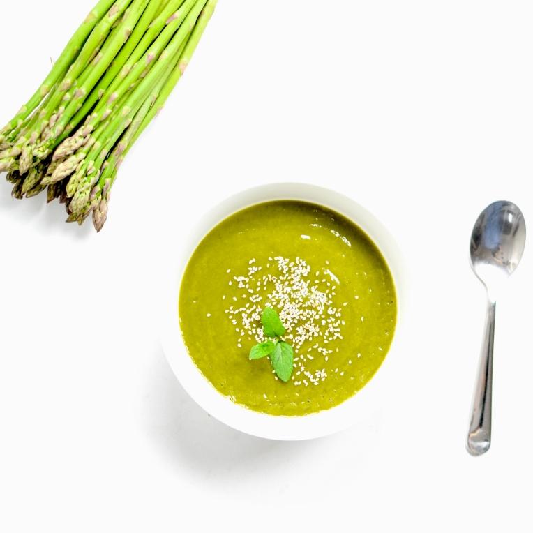 soupe asperges courgettes 4