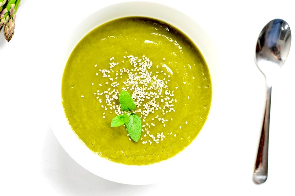 soupe asperges courgettes 5