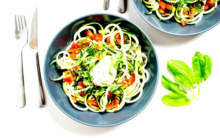 salade de tagliatelles de courgettes 1