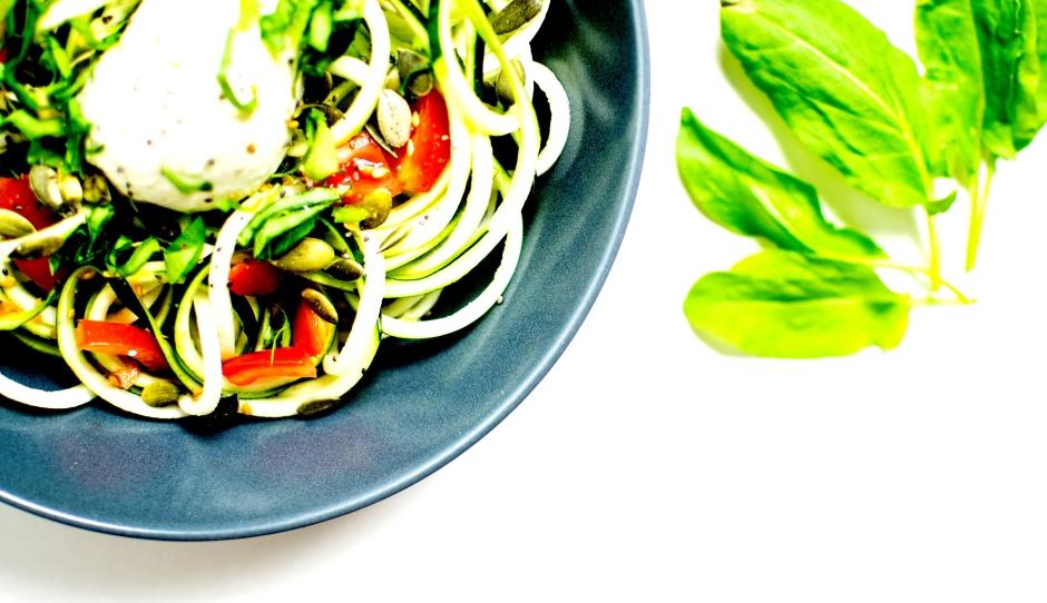 salade de tagliatelles de courgettes 4
