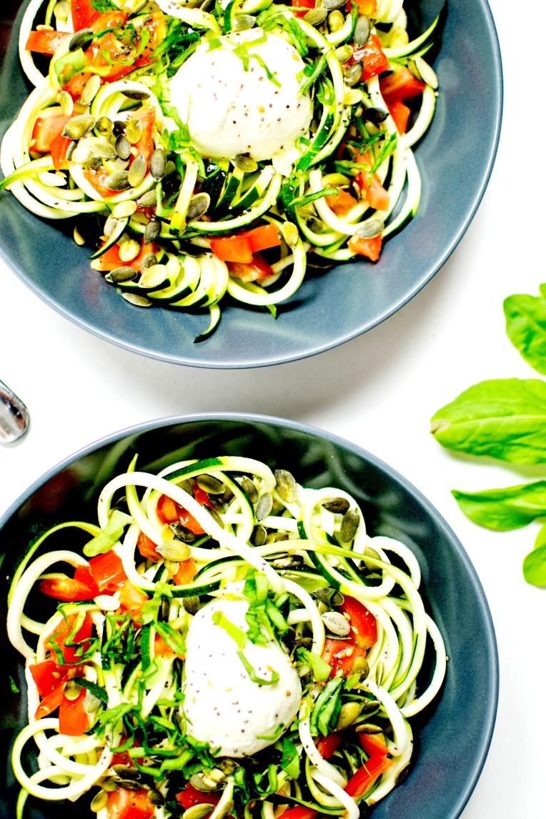 salade de tagliatelles de courgettes 5