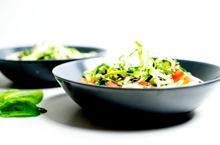 salade de tagliatelles de courgettes 7