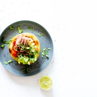 """Le """"melon bowl"""" - Une idée fraîche pour vos salades d'été"""