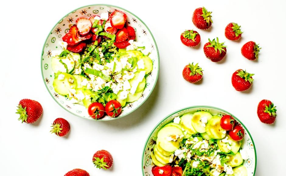 salade grecque aux fraises 2