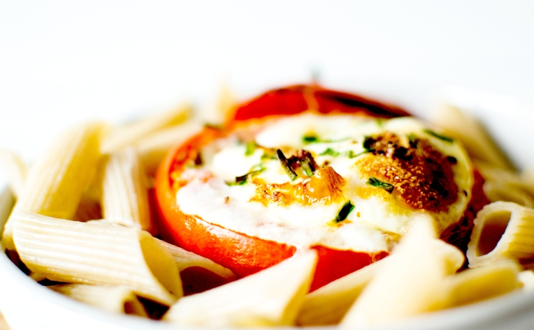 oeuf cocotte tomate 7