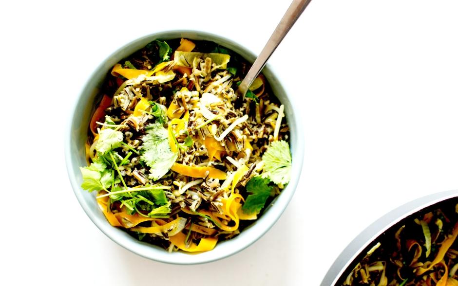 wok riz sauvage lait de coco 2
