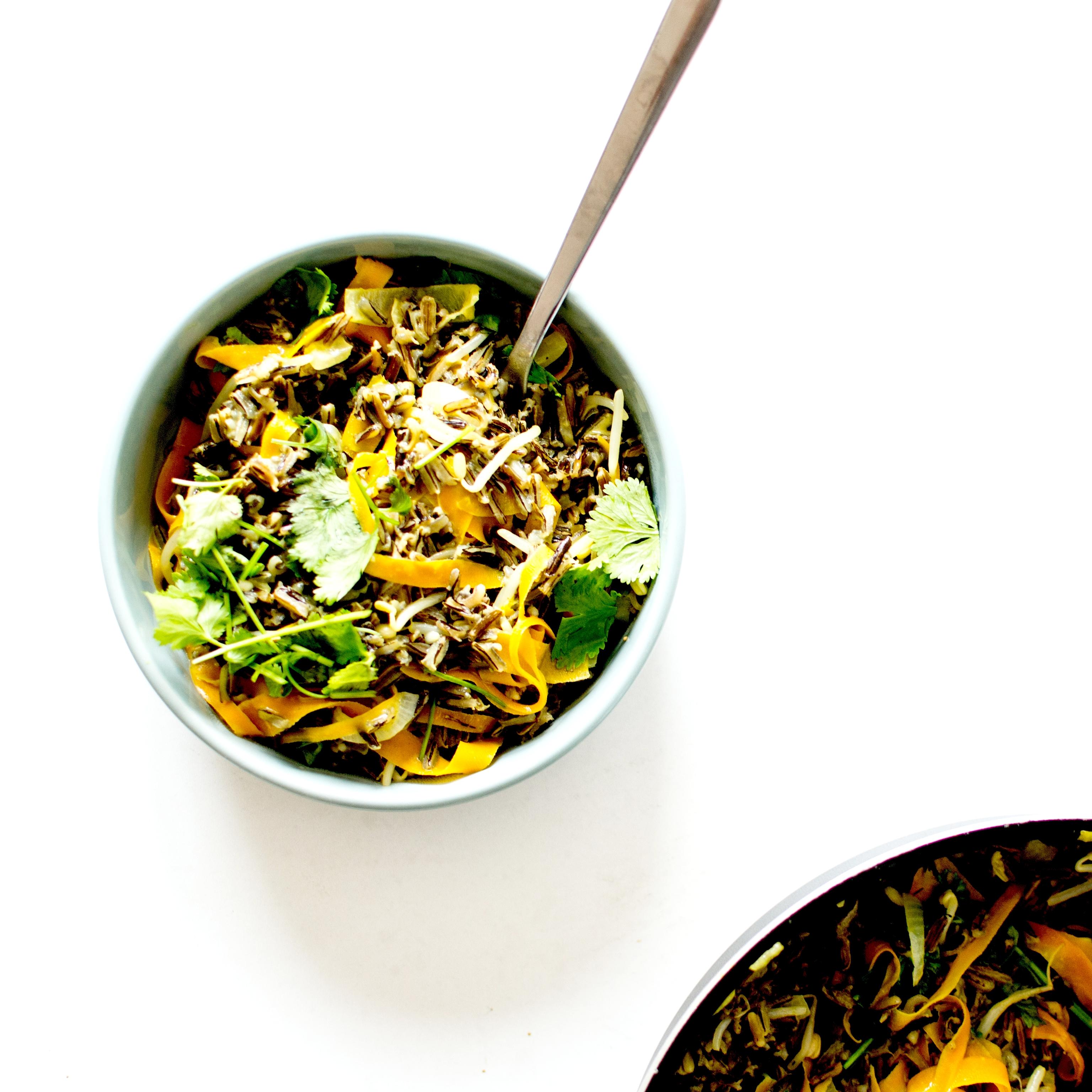 wok riz sauvage lait de coco3