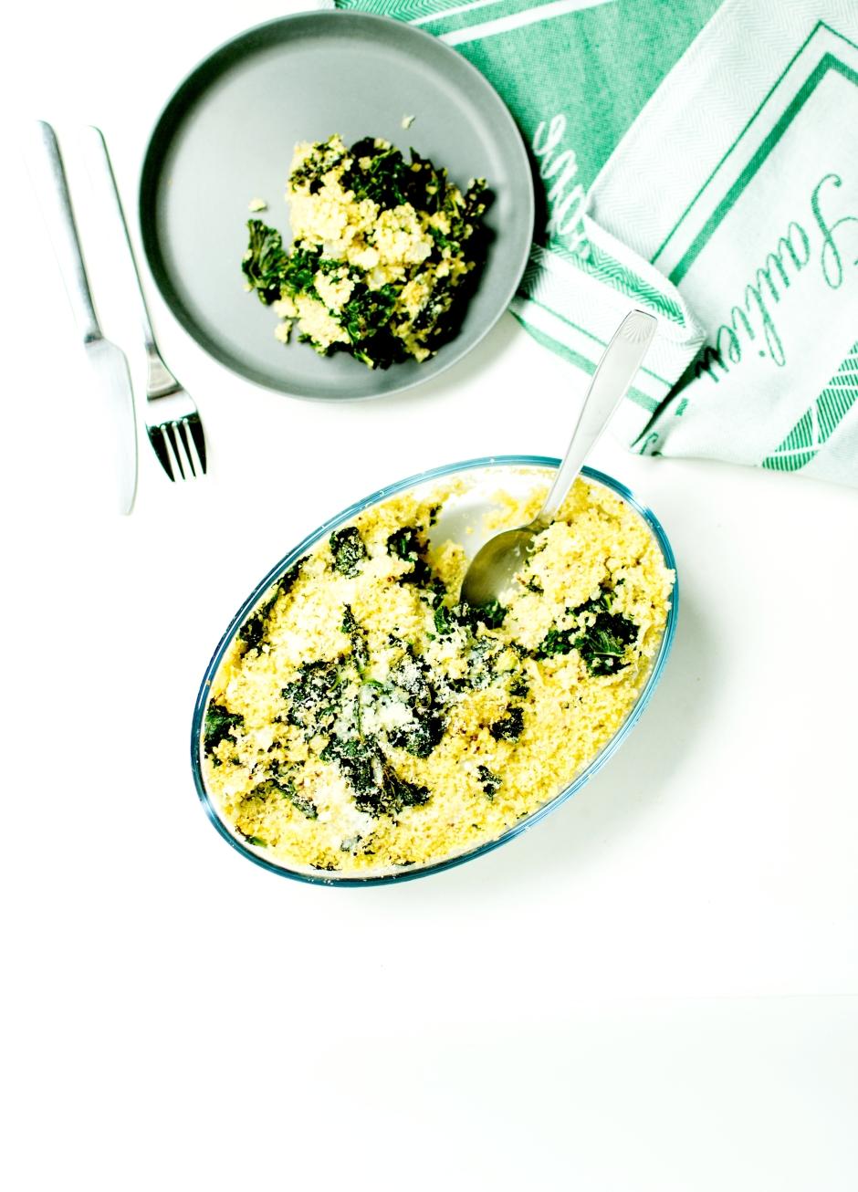 gratin quinoa
