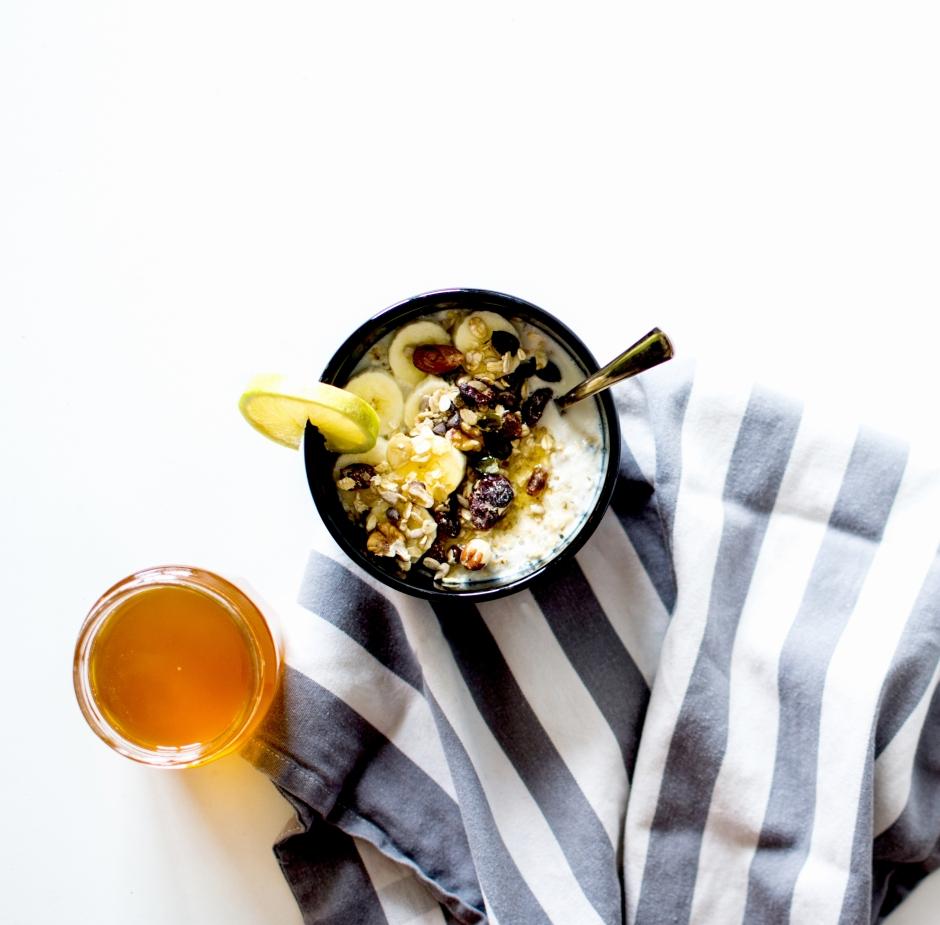 porridge citron bambou et miel 3
