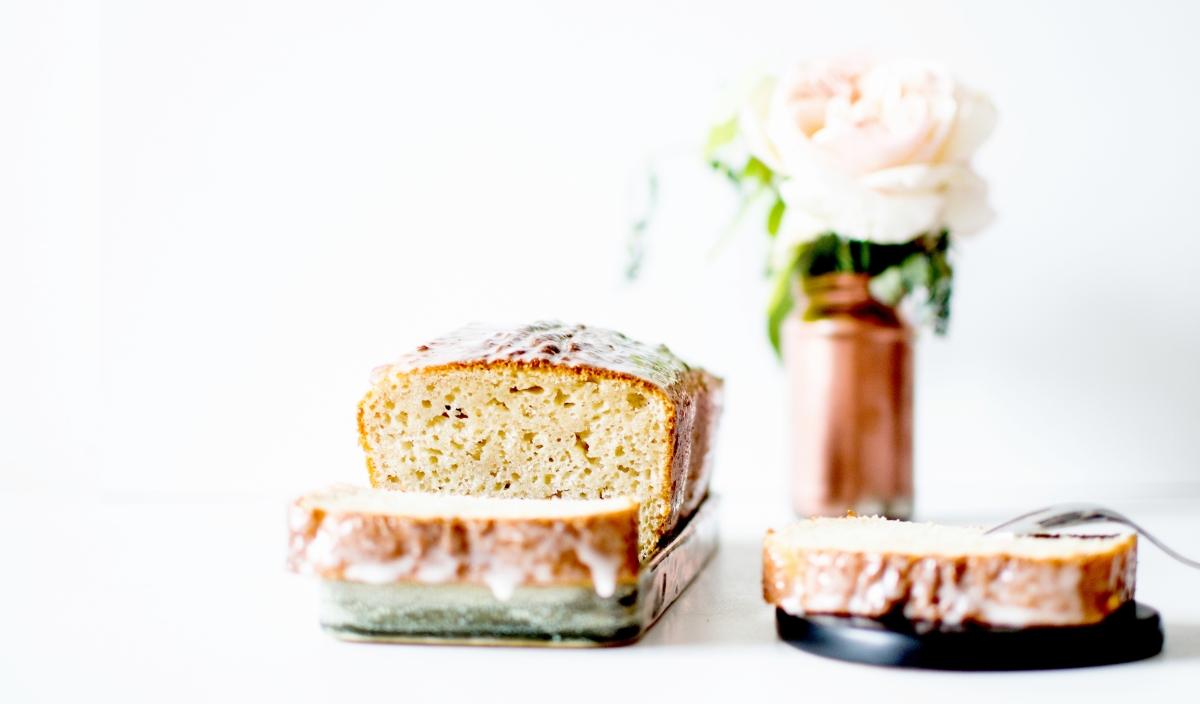Cake - Fromage blanc & Eau de rose