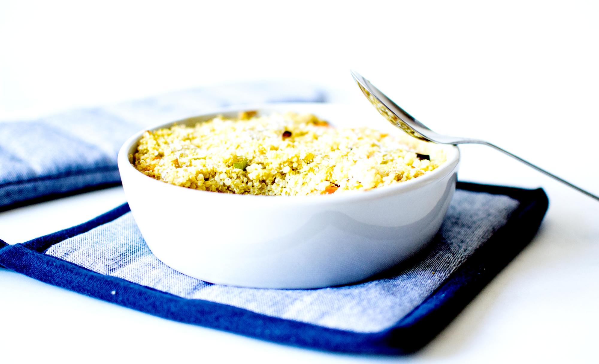 clafoutis de quinoa lait de coco 2
