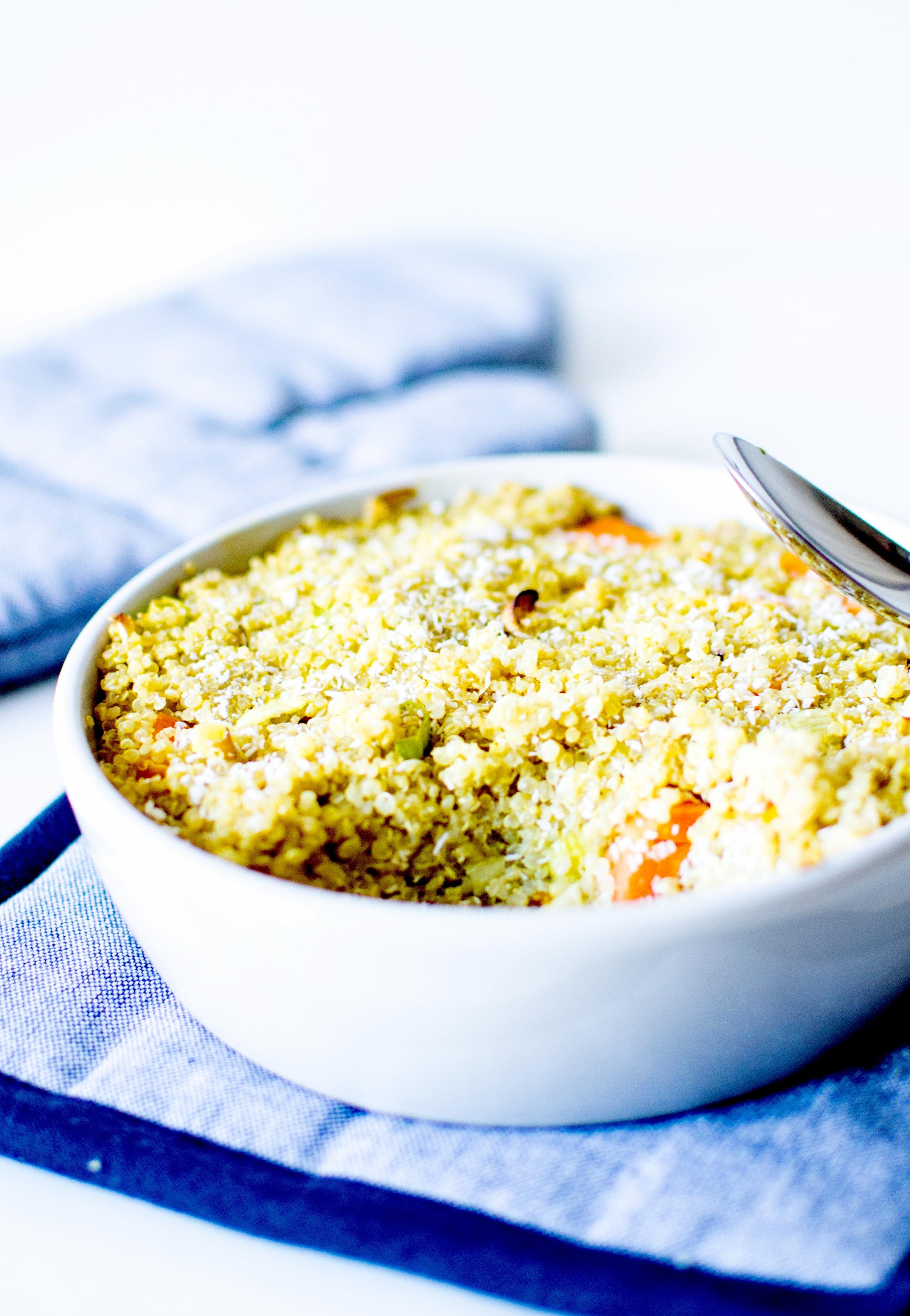 clafoutis de quinoa lait de coco 3