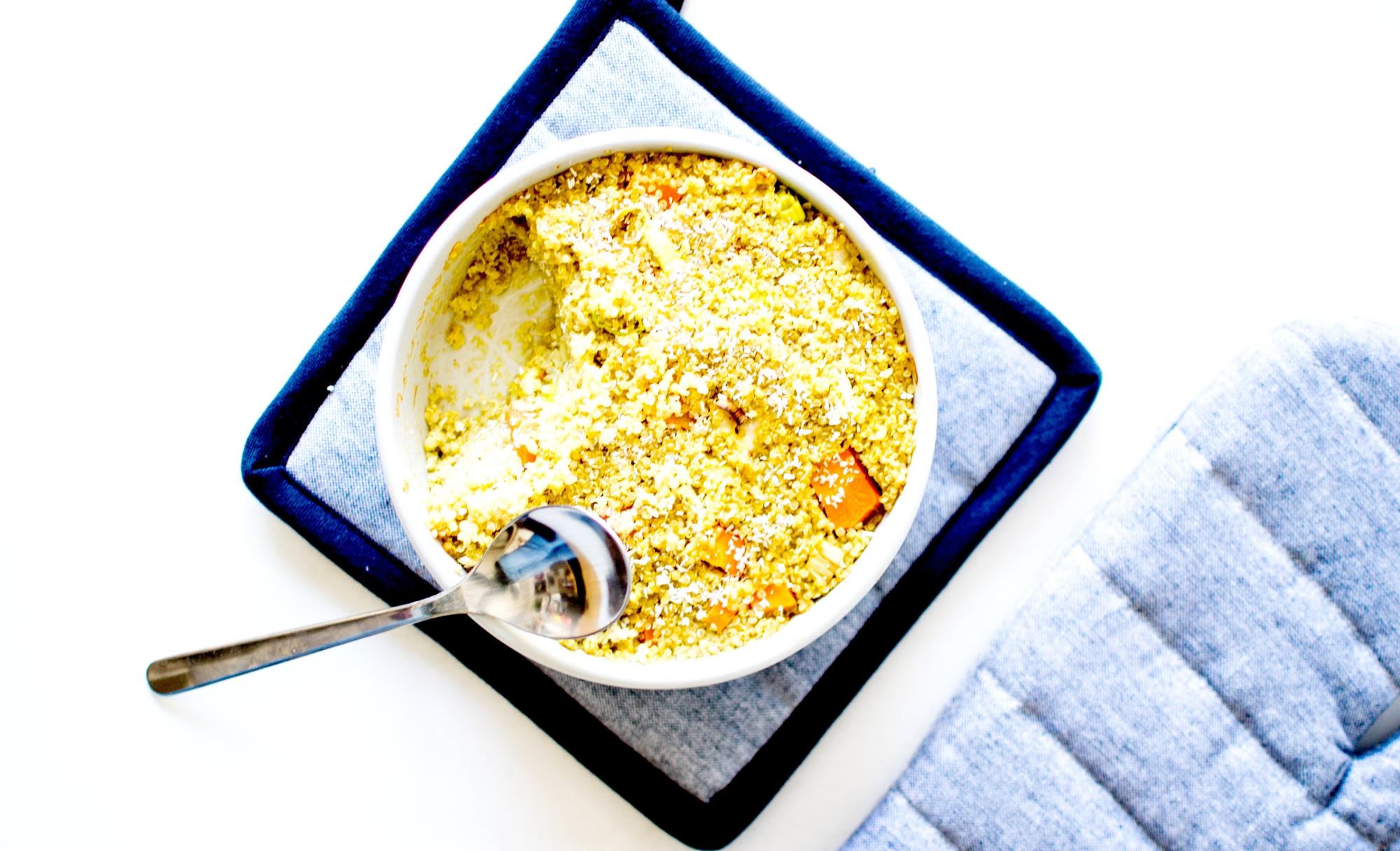 clafoutis de quinoa lait de coco 5