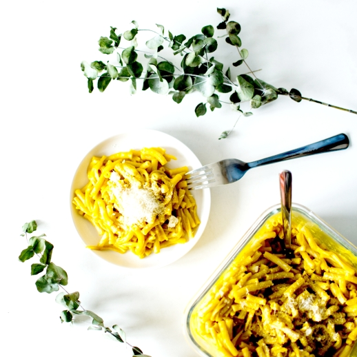 Pumpkin mac and cheese 7