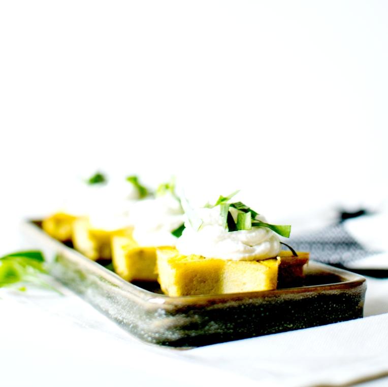 Cupcakes salés polenta chèvre frais 4