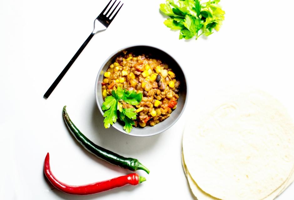 chilli végétarien 2