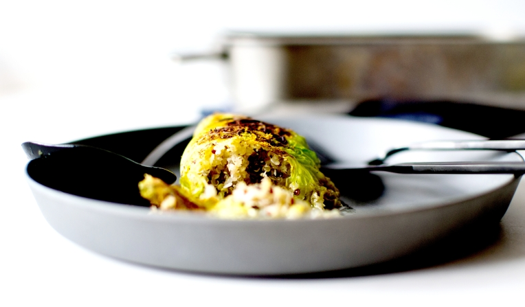 chou farci quinoa coco curry 5