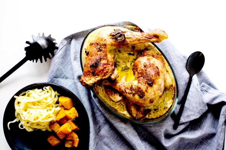 poulet à la moutarde 2