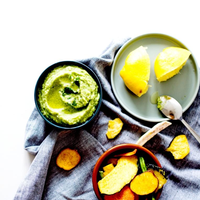 houmous crème de haricots citron 2