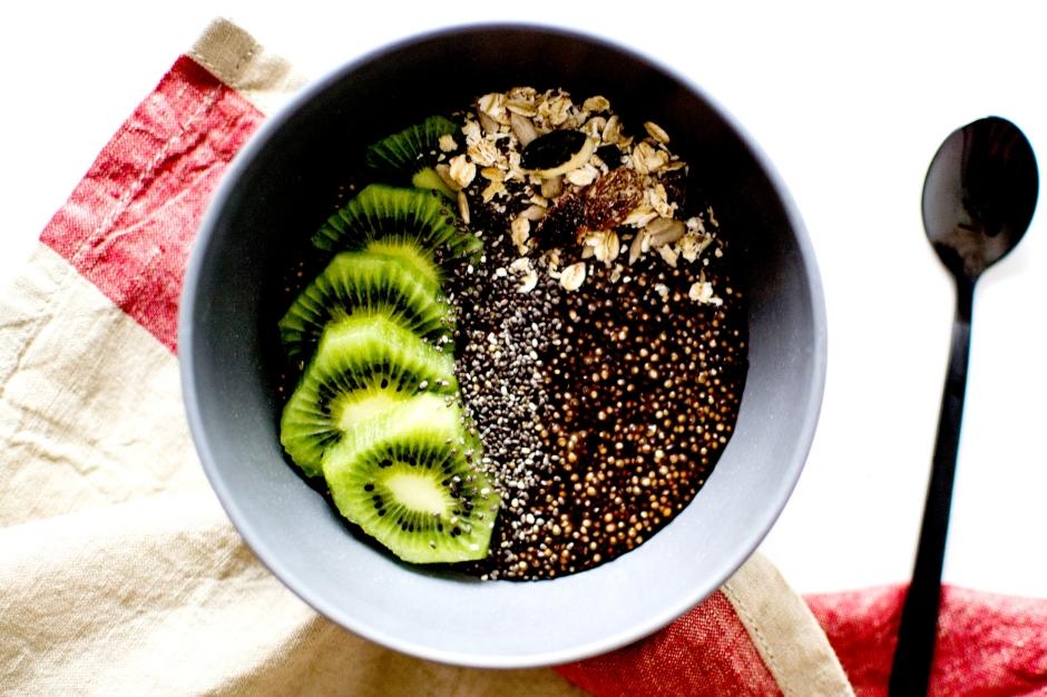 porridge quinoa chocolat 3