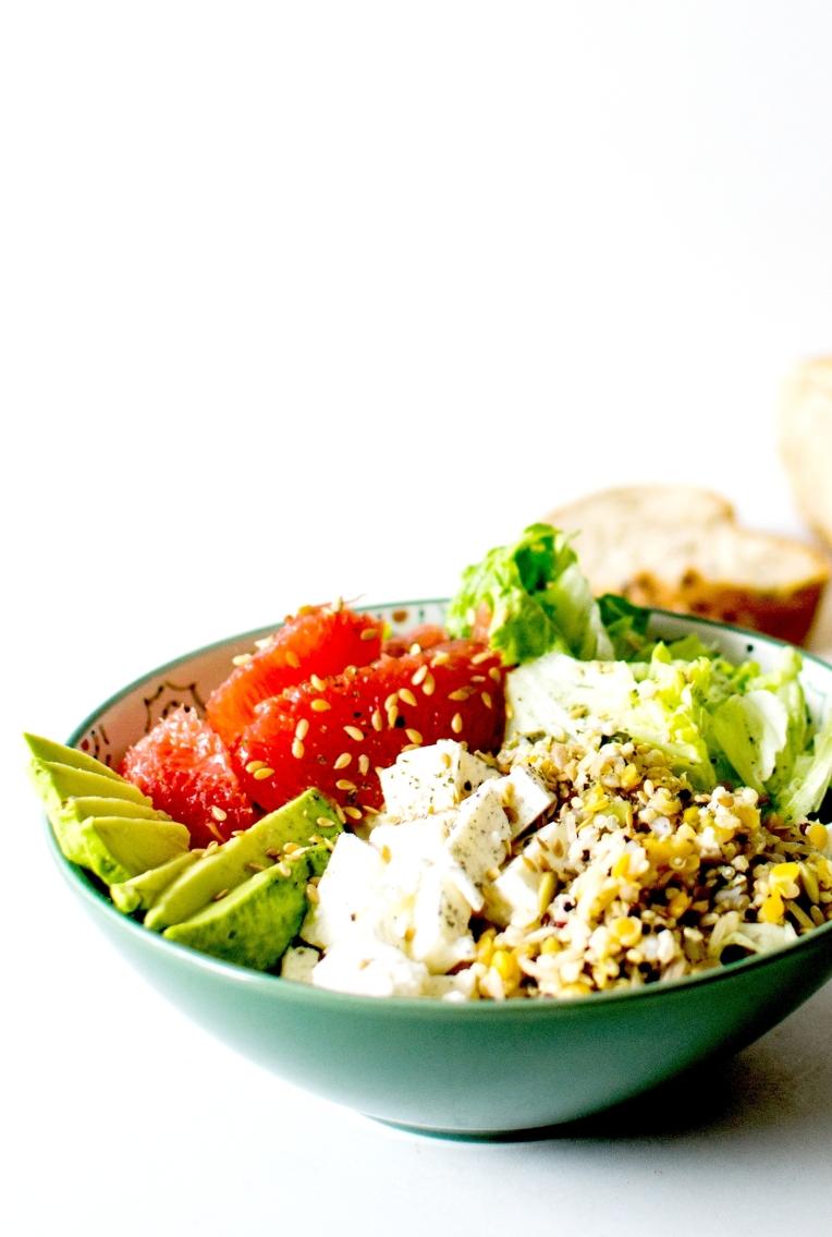 salade complete avocat pamplemousse feta 1