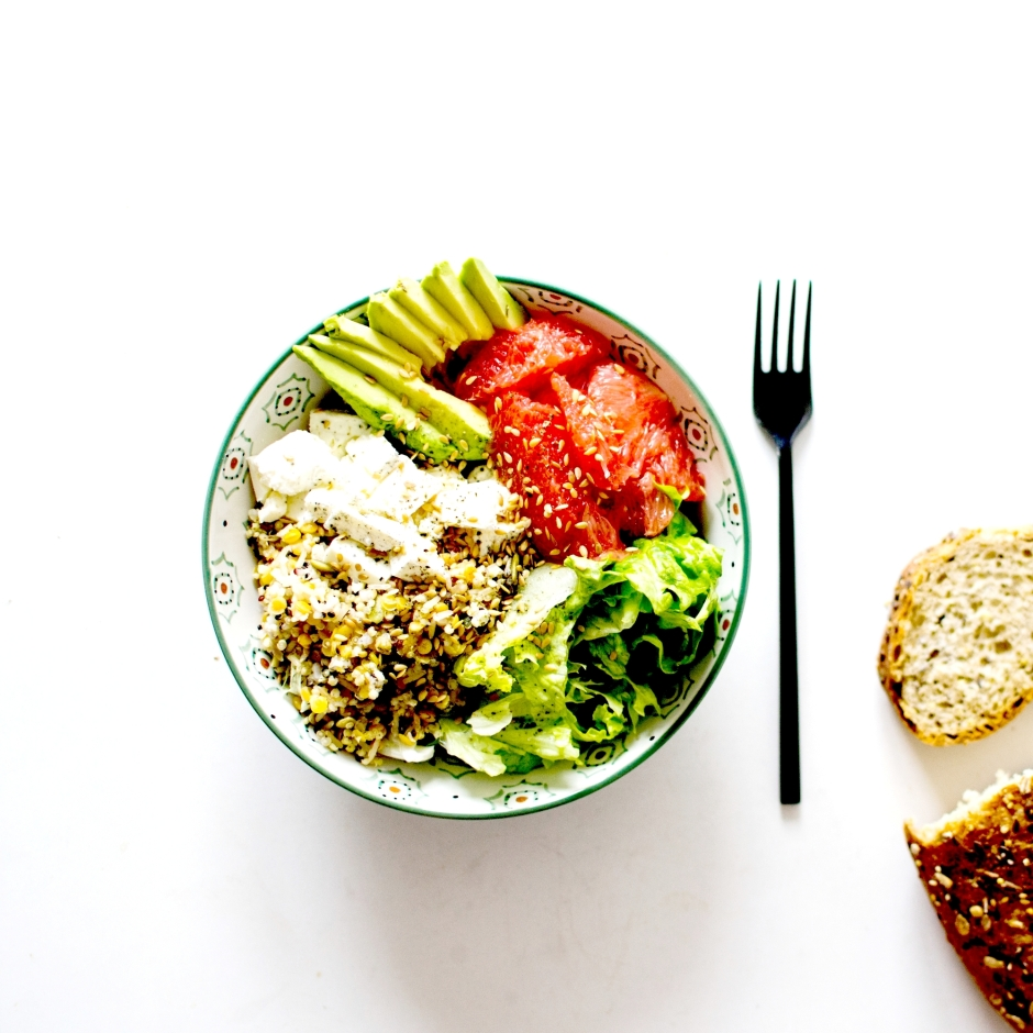 salade complete avocat pamplemousse feta 3