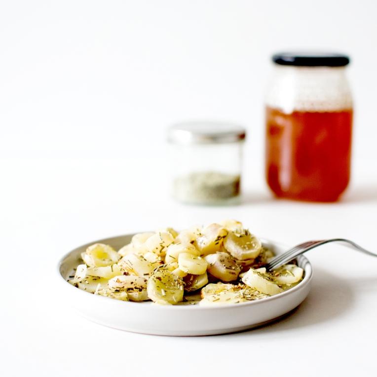 oca rôti au miel 3