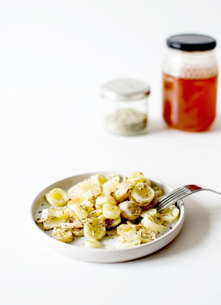 oca rôti au miel 4