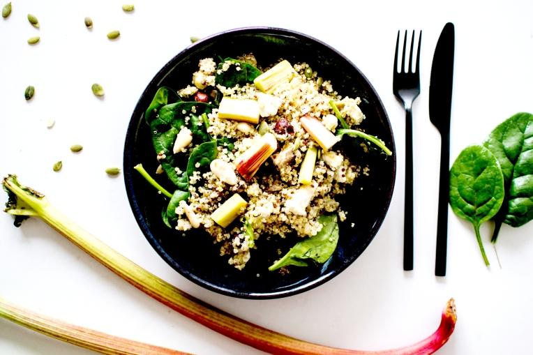 salade quinoa rhubarbe 4