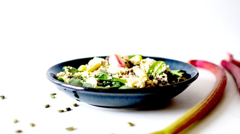 salade quinoa rhubarbe 6