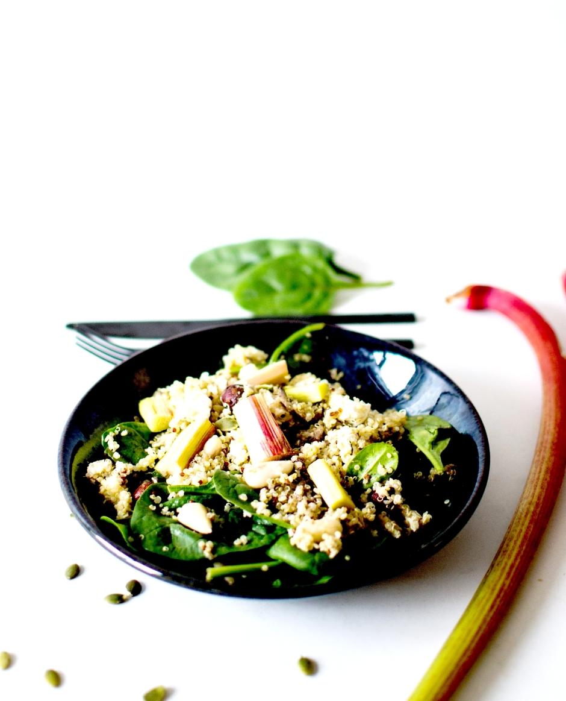 salade quinoa rhubarbe 7
