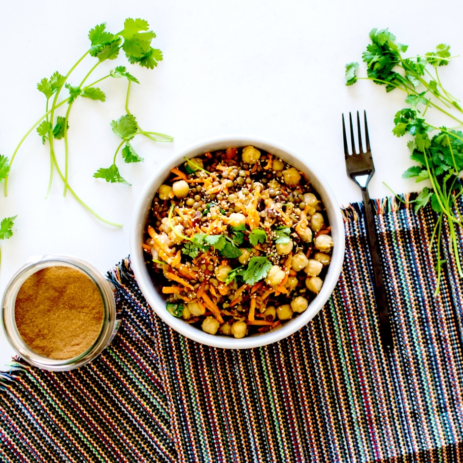 salade orientale lentilles 1