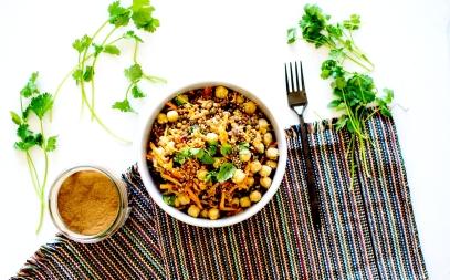 salade orientale lentilles 2