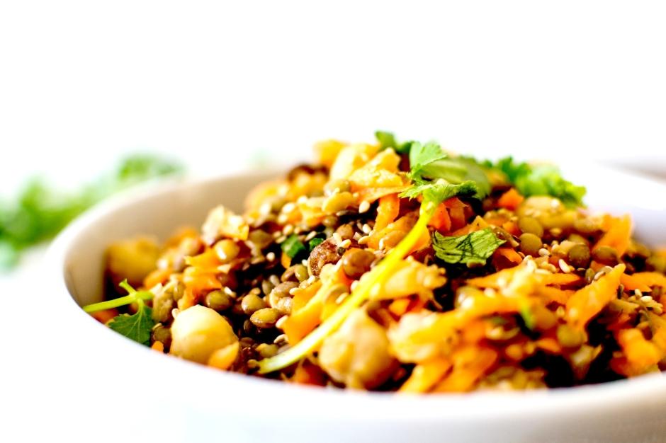 salade orientale lentilles 8
