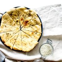 Pâte à pizza blanche - Huile d'olive, herbes & fleur de sel