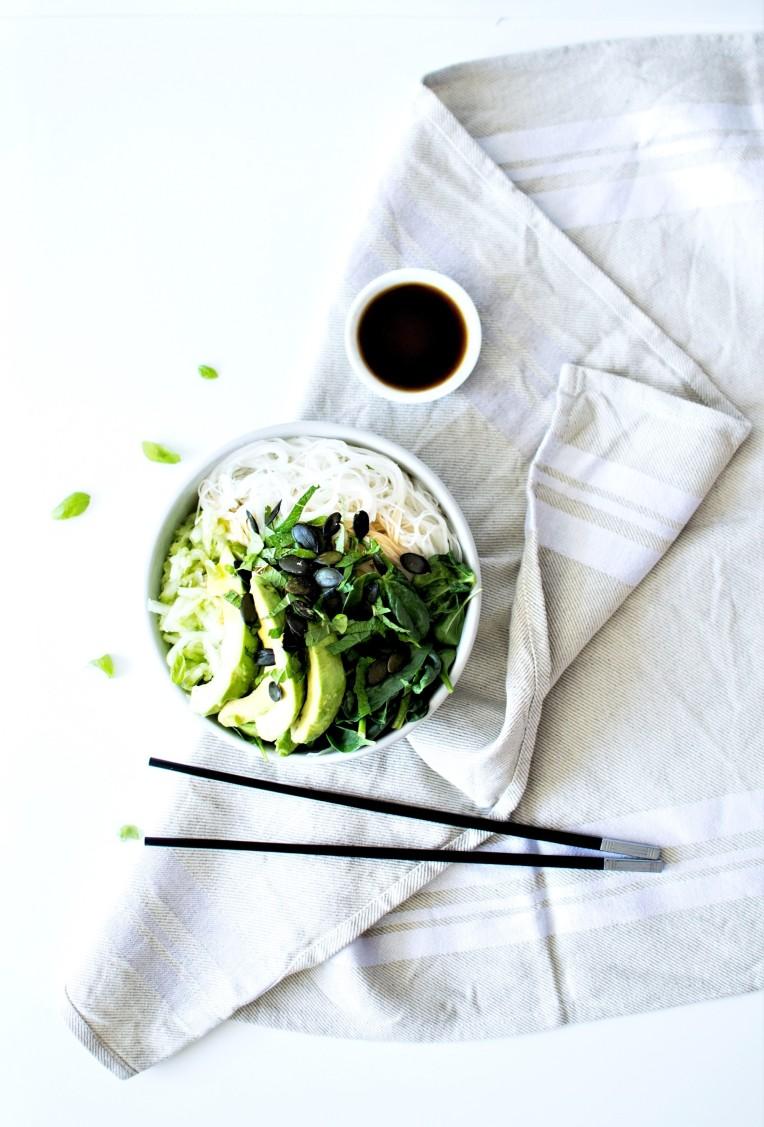 green bowl bo bun veggie 2