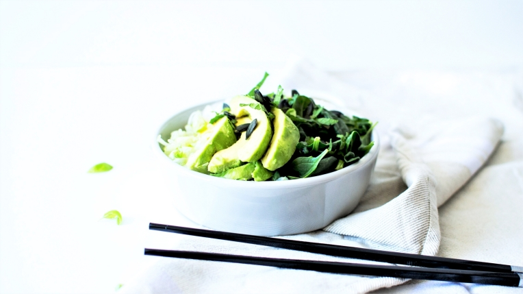green bowl bo bun veggie 3