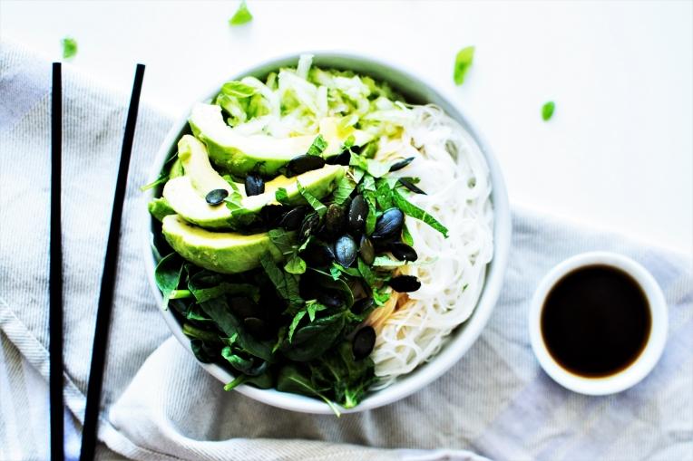 green bowl bo bun veggie 5