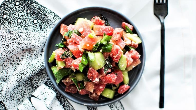 Salade tartare pastèque (1)