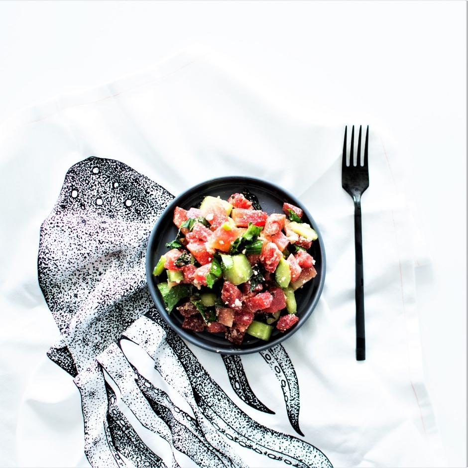 Salade tartare pastèque (4)