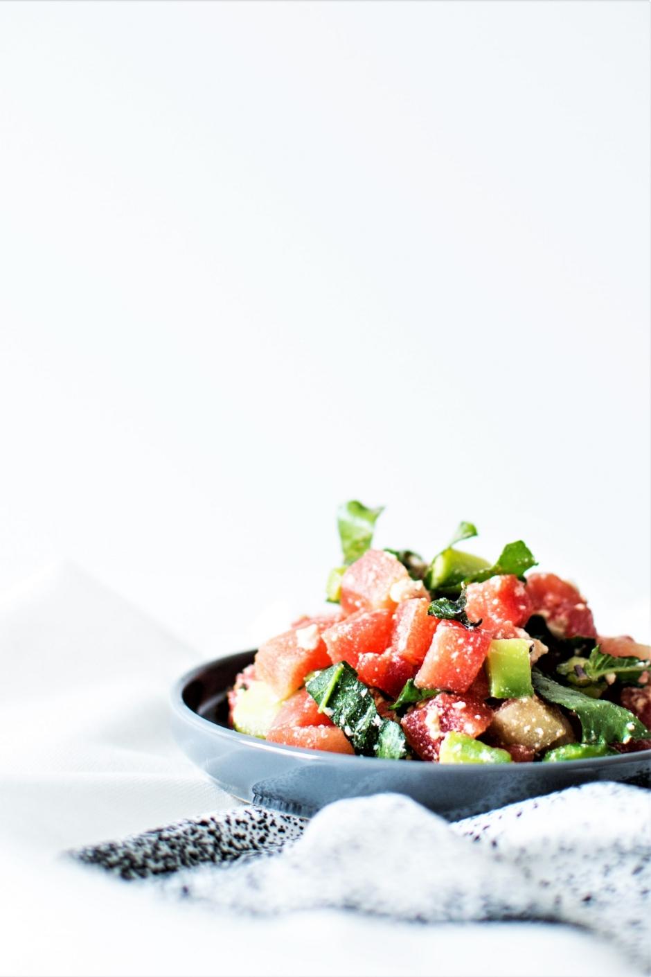 Salade tartare pastèque (6)